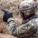 Combat Engineer M9 Pistol Qualification Range