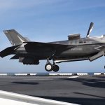 F-35B Conducts Flight Operations Aboard Navy Amphibious Assault Ship