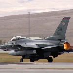 Fighter Jets Take-Off From Nellis Air Force Base: F-16C Fighting Falcons In Action