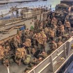 Landing Craft Utility (LCU) Well Deck Ops – Amphibious Assault Ship USS Bonhomme Richard