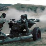 Royal New Zealand Army & US Joint Terminal Attack Controller – L118 Light Gun 105mm Howitzer Fire