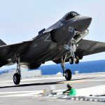 First Carrier With F-35C Squadron: USS Abraham Lincoln Tests F-35C Lightning II At Sea