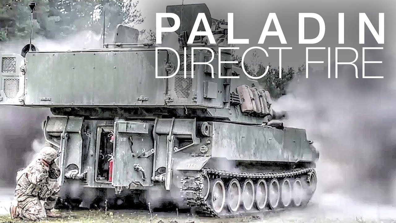 Paladin howitzers obliterate targets with explosive direct for Direct flame