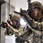 Soldiers Charge And Clear Rooms During Urban Training – U.S. Army Exercise In Japan