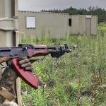 Ukrainian Soldiers Train To Fight: Urban Warfare Training