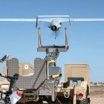 Unmanned Aerial Vehicle RQ-21A Launch And Recovery