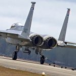 F-15 Fighter Gives Aircraft Arresting System A Try