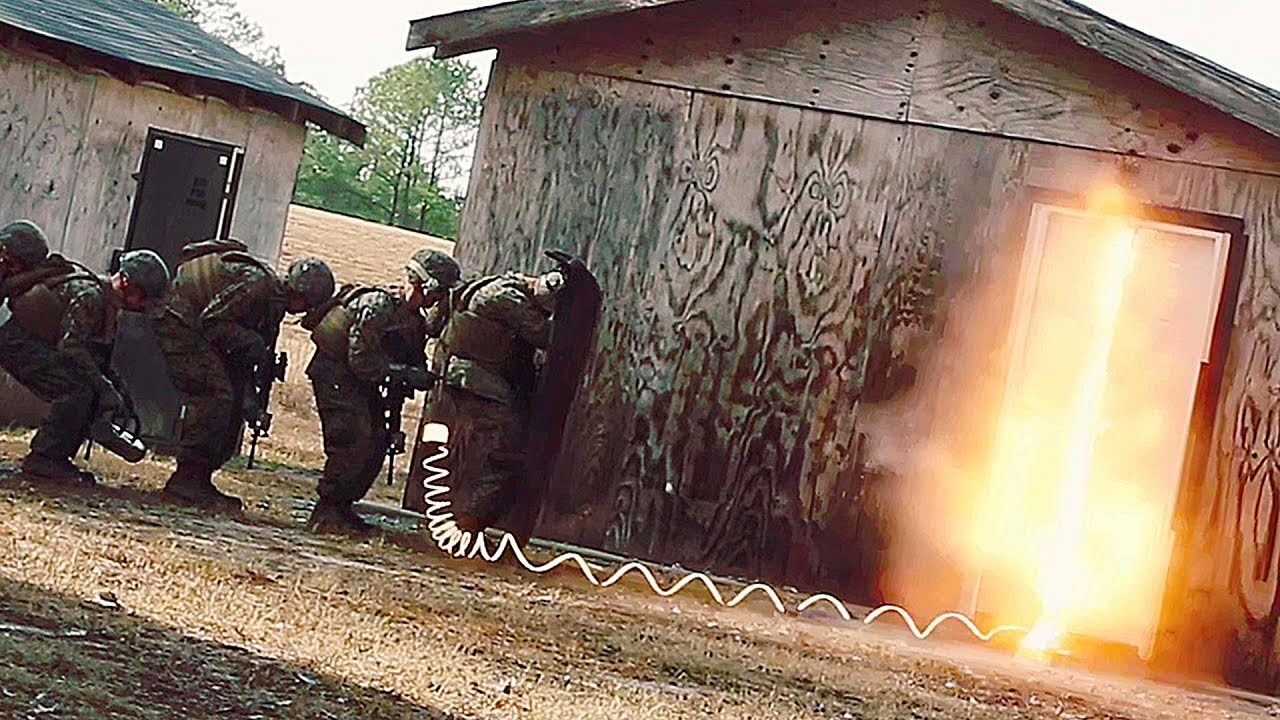 Marines Train for Door Breaching With a Bang & Marines Train for Door Breaching With a Bang | AIIRSOURCE