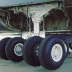 View Of C-5 Landing Gear You Normally Don't Get To See (Landing Gear Extending)