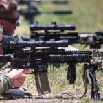 Marines Train On The New M38 Marksman Rifles