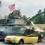 Main Battle Tanks vs Cars